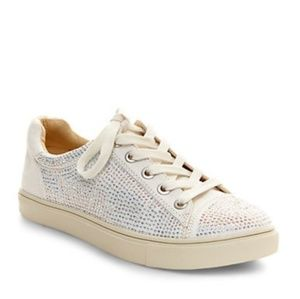 Betsey Johnson sequin sparkle sneakers